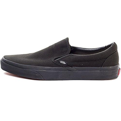 Classic Mixte on Baskets Slip U Noir Vans Black Adulte black Mode Rwq1Yx5