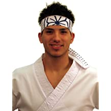 Karate Kid Mr Miyagi Daniel Movie Headband