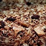 New England Naturals Apple Raisin Walnut Granola, 25 Pound Bulk Bag Apple Raisin Walnut Organic Granola Cereal Bulk Snack