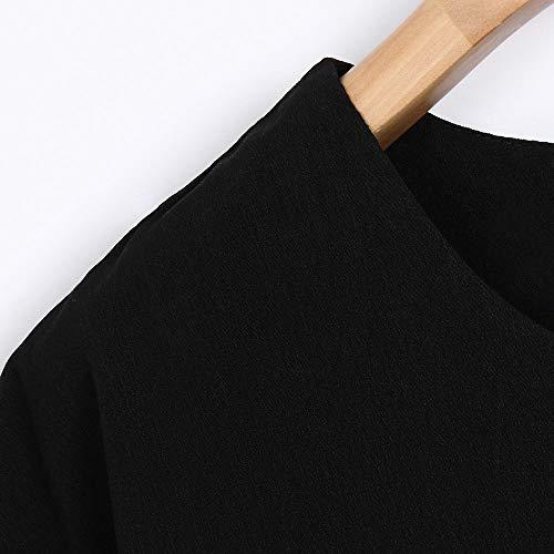 T Halloween Noir Femme Bleu shirstLolittas Blouse Blanc Manches Courtes Chemise Rose Tops DContractE Noir Beige adxUqxw