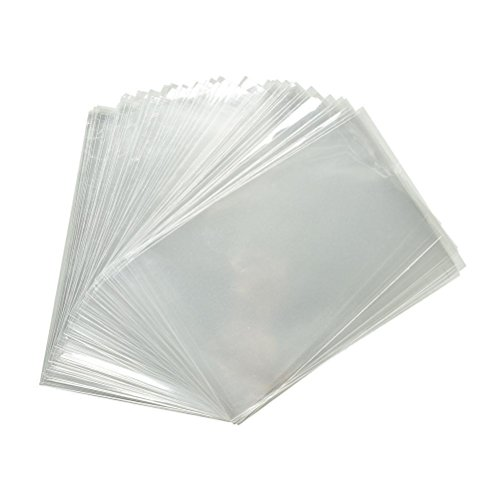 100x Clear Flat Cello/Cellophane Treat Bag 2×4 inch (1.2mil) Gift Basket Supplies