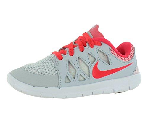 Nike Free 5.0 Preschool Youth Girls Size 1 White Mesh Runnin