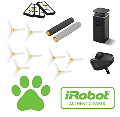 Pet Lovers Service Kit - Authentic iRobot Roomba 900 Series Robotic Vacuum Service Kit. Fits iRobot 980 & iRobot 960 Robotic Vacuum Cleaners Developed For Homes With Cats, Dogs & Human Hair.