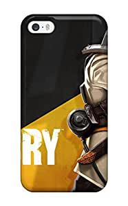 Hot 8164213K51650906 New Style TashaEliseSawyer Battlecry Premium Tpu Cover Case For Iphone 5/5s