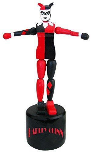 Entertainment Earth Harley Quinn Wood Push Puppet