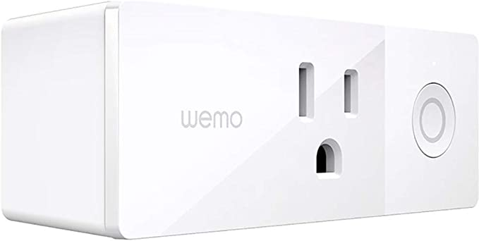 Wemo Mini Smart Plug, WiFi Enabled, Works with Alexa, Google Assistant