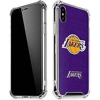 timeless design 30dd0 4863c Amazon.com: Skinit Los Angeles Lakers Purple Primary Logo iPhone X ...