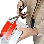 HITECHLIFE-Attenzione-Adesivo-Riflettente-Rosso-E-Bianco-per-Xiaomi-Motorino-Elettrico