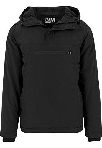 Over Black Chaqueta Classics Urban Jacket Pull Padded 7 para Hombre Negro fAtfWqz