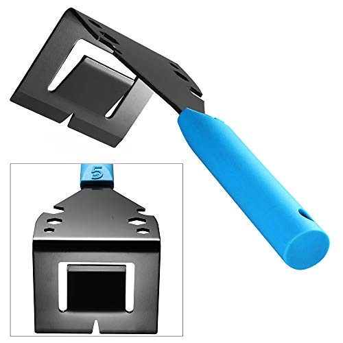 Trim Puller Moulding Removal Tool Pry Bar | Trim Removal Tool Nail Puller | Hand Multi-function Home Improvement Wood Tile Trim Molding Removal Tool (Wall Puller Tool)