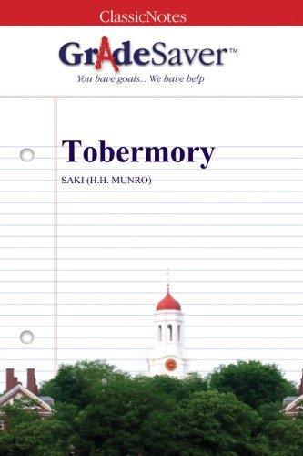 GradeSaver (TM) ClassicNotes: Tobermory