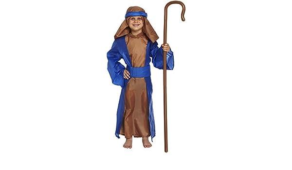 Amazon.com: Boys Blue Shepherd Shepard Fancy Dress Costume ...