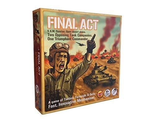 Tyto Games Final Act Si-Mov Strategy Board Game [並行輸入品] B07SD9FBLJ