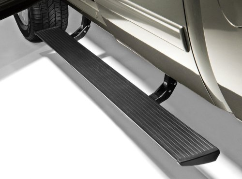 AMP Research 75126-01A PowerStep Electric Running Boards for 2007-2013 Silverado & Sierra 1500, 2007-2014 Silverado & Sierra 2500/3500 with Extended & Crew Cabs (Excludes 2011-2014 - Electric Running Boards
