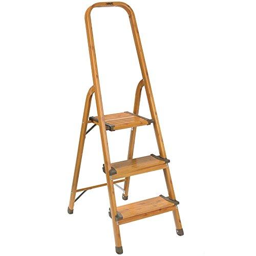 Polder 3-Step Ultralight Ladder, Woodgra - Polder Step Ladders Shopping Results