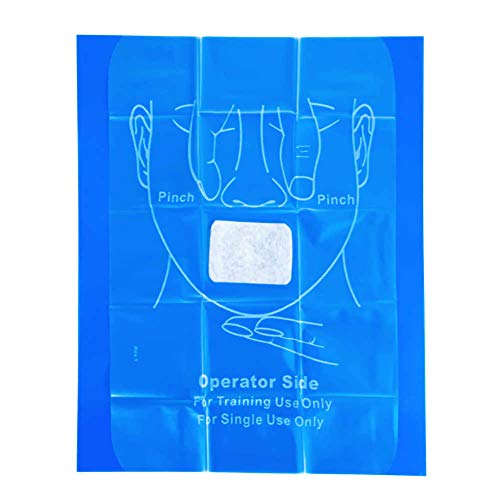 WNL Products WL3120CP CPR Practi-Shield Manikin Training Protector (200 Shields)