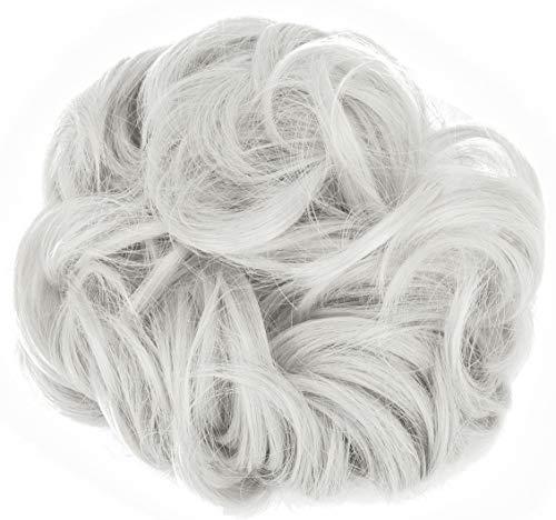 Messy Hair Bun Extensions Chignons Hair Hair Scrunchie Scrunchy Updo Hairpiece
