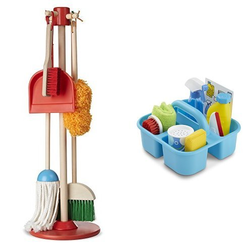 Melissa & Doug Let's Play House! Cleaning Bundle