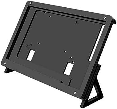 Monland 7 Pulgada LCD Soporte de Acrílico Soporte de Pantalla Soporte de Soporte de la Caja de Contacto para Raspberry Pi 3 Modelo B: Amazon.es: Electrónica
