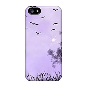 Fashion Protective Foggy Lavender Night For HTC One M8 Phone Case Cover