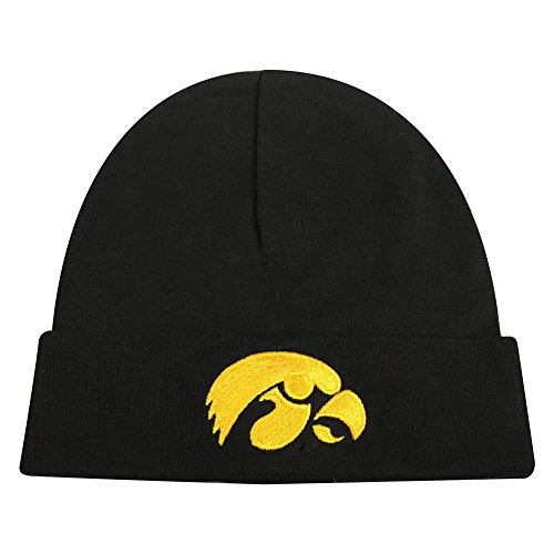 a Hawkeyes Official NCAA Infant Knit Tow Lil Cuff Beanie 944494 ()