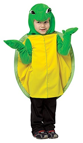 UHC Boy's Tiny Turtle Reptiles Sea Ocean Outfit Child Halloween Costume, Toddler (3T-4T)