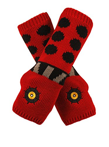 Elope Doctor Who Red Dalek Arm Warmers