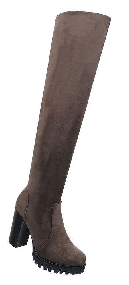 Damen Schuhe Stiefel Moderne Modell Overknee Modell Moderne Nr.2 Olive 50e8c1