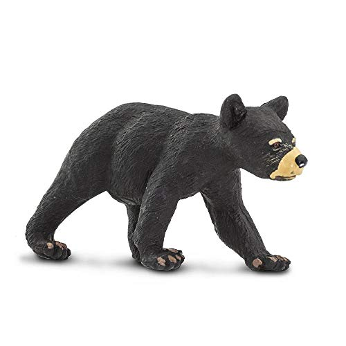 Safari Ltd Wild Safari North American Wildlife Black Bear Cub - North American Black Bear