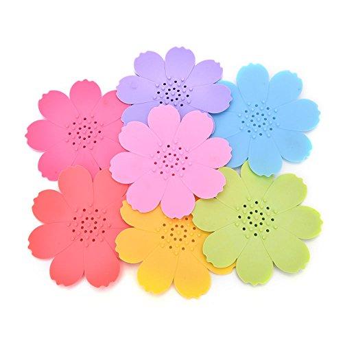 dalakin-vogueflower-shape-soap-box-dish-storagecase-holderorganizer-homebathroomorange-pink