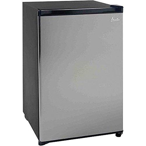 Avanti Refrigerator Undercounter (Avanti RM4436SS 4.4 cu ft. Undercounter Refrigerator, Black with Stainless Steel Door)