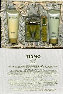Tiamo Gift Set 3 Pcs. [ 3.4 oz. Eau De Parfum Spray + 6.8 Oz. Gel + 6.8 Oz. Body Lotion ] Women