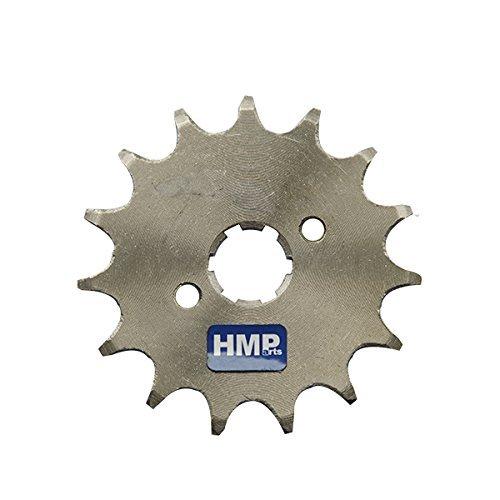HMParts - pignon 420 17Z 17 MM pour Dirt Bike/Pit Bike/Quad/Tout-Terrain/Monkey Dax