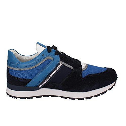 Harmont & Blaine Sneakers Hombre 40 EU Azul Gamuza/Textil/Cuero