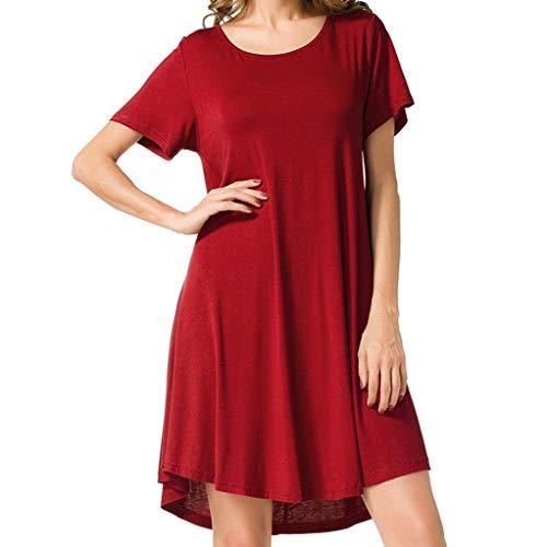 Women's Casual Deep- V Neck Sleeveless Vintage Wedding Maxi Dress Red (Capilene 2 Cap)