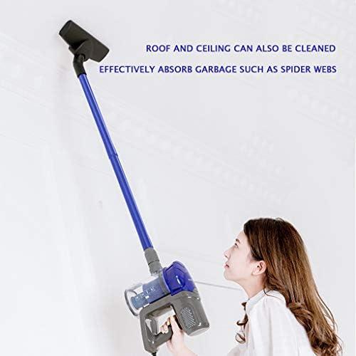 XHZ-Z Aspirateur sans fil, puissant aspirateur vertical à main avec 3 brosses pour les tapis de sol, les plafonds et les poils d\'animaux
