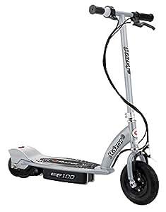 Razor E100 Scooter eléctrico, plata, RZ00164