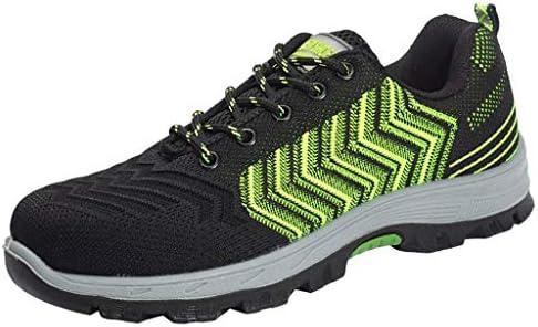 作業靴 軽量で消臭・防ダニの男性用シューズ、夏の通気性とパンク防止の作業靴、現場での耐摩耗性のアンチピアスシューズ 安全靴 (色 : L l, サイズ さいず : 40)