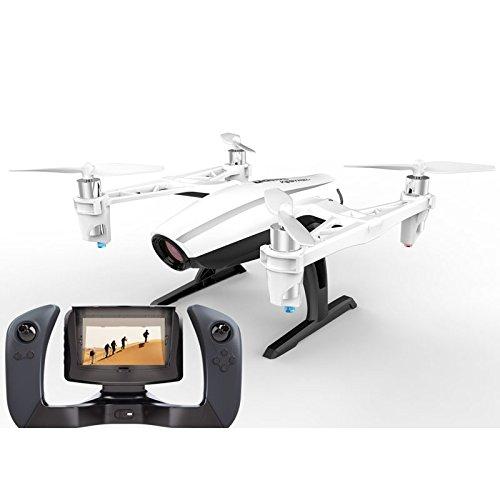 Drone UDI U28 FPV Pro (Mando con Monitor) | Cámara HD 720P | 3 Velocidades | Ideal para Aprender