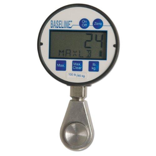 Baseline 12-0237 Digital Hydraulic Pinch Gauge with LCD Display, 100 lbs (Digital Hydraulic Pinch Gauge)