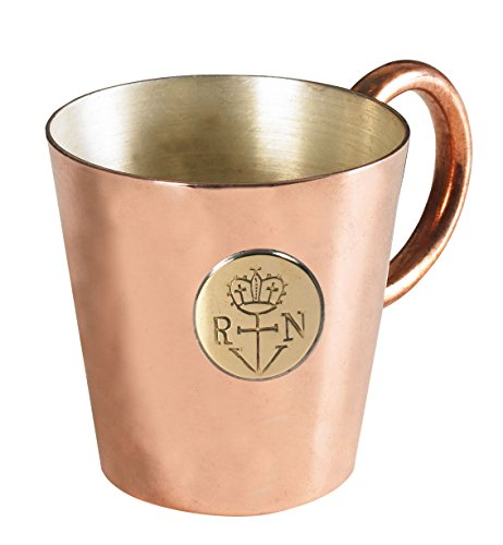 Authentic Models AC101 Rum Measure Cup - Copper/highly Polished (Cup Rum)
