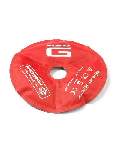 Neo G Hot and Cold Therapy Disc - Flexible Ice/Heat Pack for Injuries, Muscle Inflammation, Joint Pain, Swelling, Sprains - Reusable and Dual Function - Class 1 Medical Device - Qty 1 Disc - Blue/Red from Neo-G