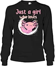 Just A Girl Who Loves Axolotls Cute Funny for Teen Girl Kids