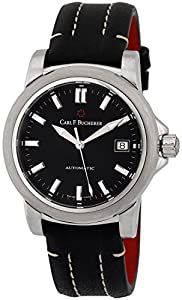 Carl F. Bucherer Patravi AutoDate Automatic Steel Mens Strap Watch 00.10617.08.33.01