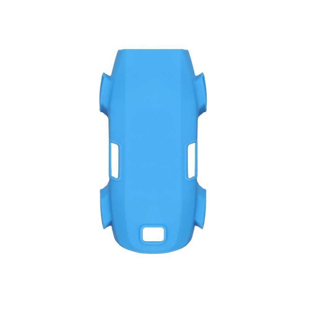 PENIVO シリコーン ケース ドローン機体 防塵 旅行 輸送 保護 カバー 本体 DJI Spark 用 アクセサリー (青) B0769FP6ZP 青