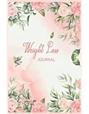 Weight Loss Journal: Weekly Weight Loss Tracker Journal 2021 for Women   Fitness Log Book   Weight Tracker