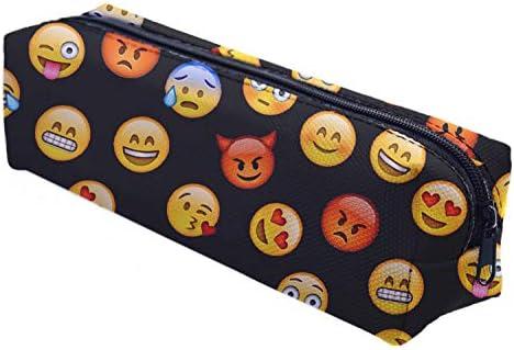 Ferocity Estuches plumier la Tuba Multicolor Emoji Black [008]: Amazon.es: Juguetes y juegos