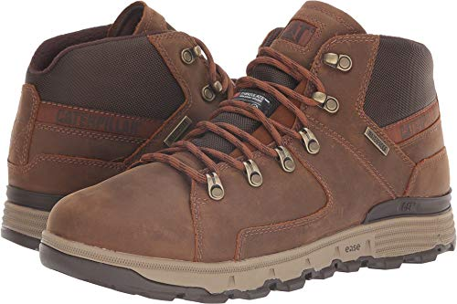 Caterpillar Casual Men's Stiction Hiker Ice + Waterproof TX Brown Sugar 9 D US D (M) ()