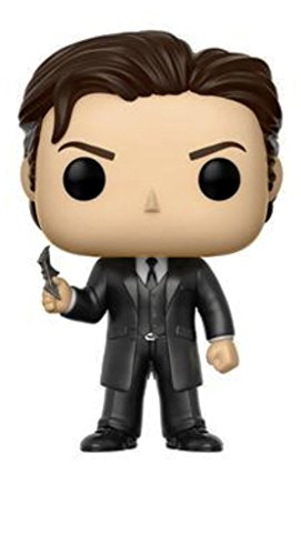justice+league Products : Funko Pop Heroes: Justice League-Bruce Wayne- Collectible Figure - Summer Convention Exclusive