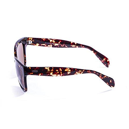 Ocean Sunglasses Santa Monica Lunettes de soleil Demy Brown Dark/Brown Lens bXi1nXcd